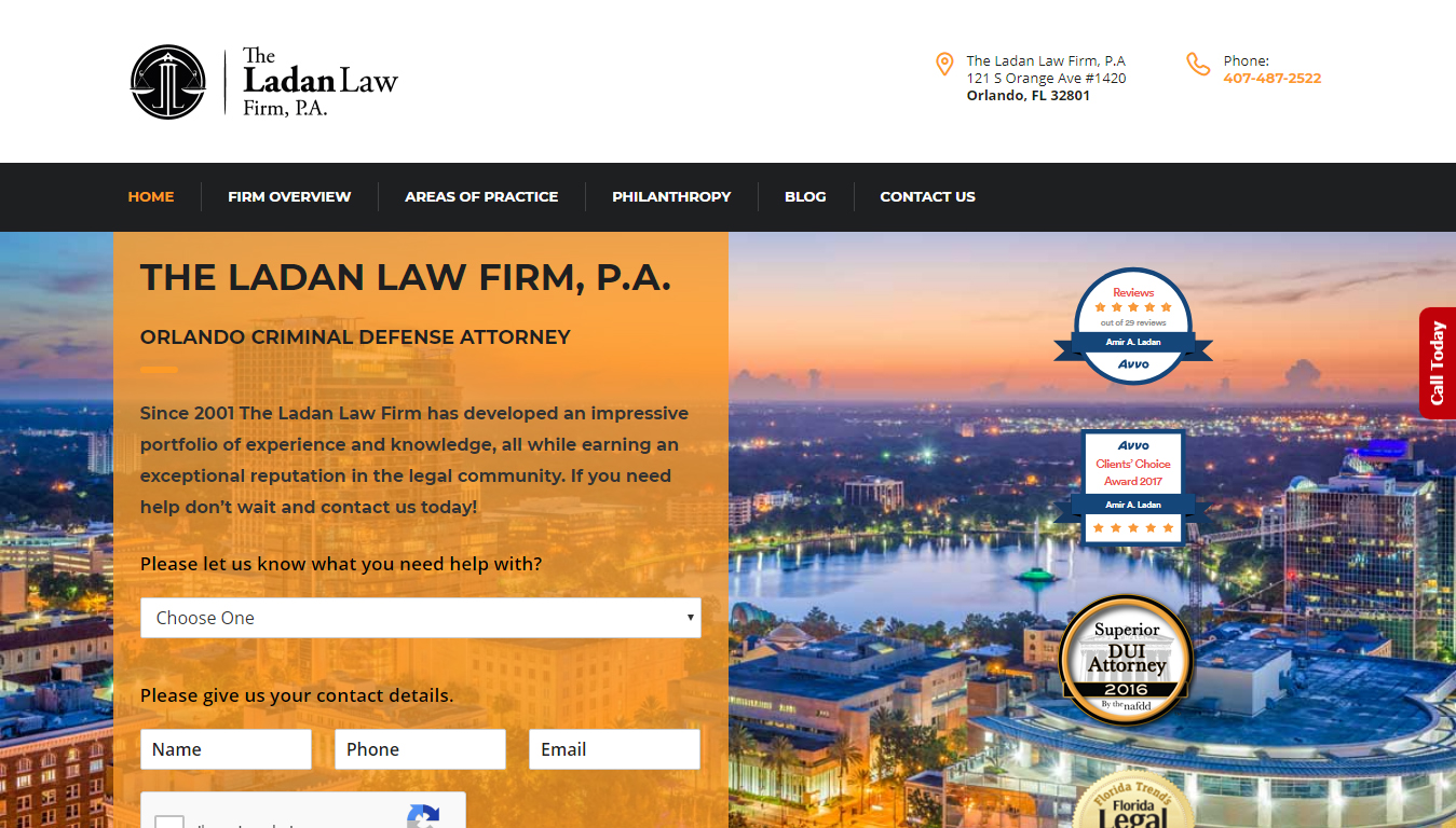 The Ladan Law Firm, P.A.