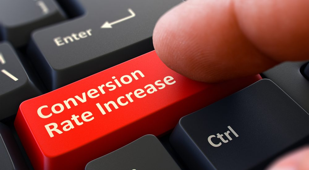 increase conversion on website